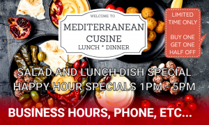 BUSINESS- Food- Mediterranean