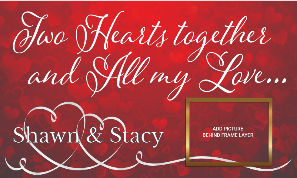 Holidays-Valentines Day- Two Hearts Together