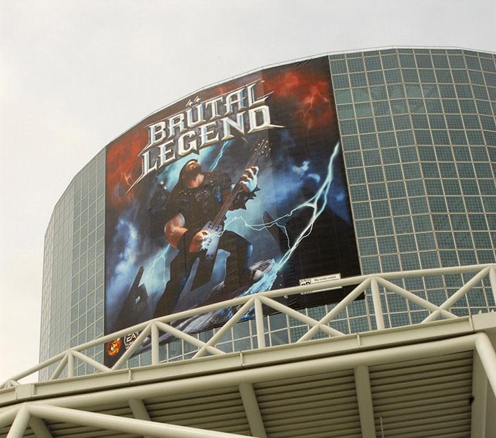 Brutal Legend Banner Bought For a Convention