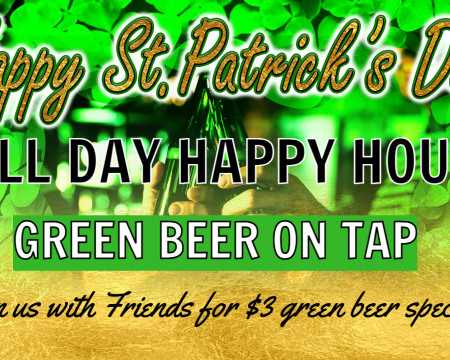 HOLIDAY- ST. PATRICK'S DAY