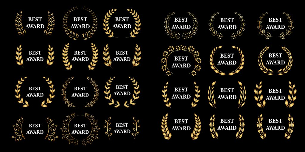 Example Step and Repeat Banner for an award ceremony