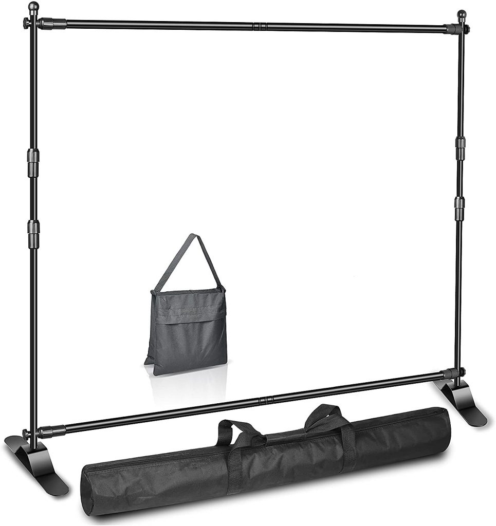 step and repeat banner frame and accessories