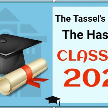 Congratulations Class of 2021 Graduation Banner
