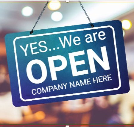 Yes..We Are Open Restaurant!