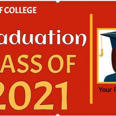 Hooray! its your Graduation Banner!