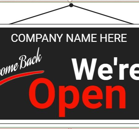 Welcome Back We Are Open!
