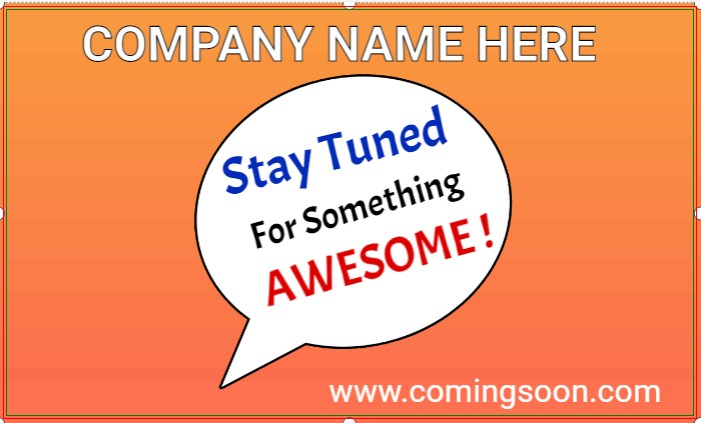 Stay Tuned For Something AWESOME !