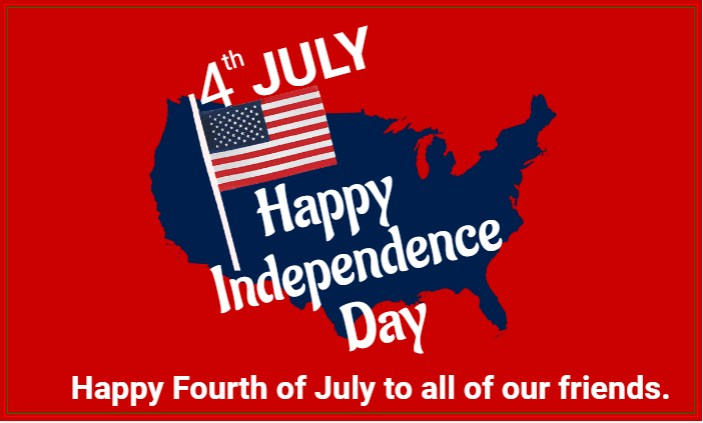 Happy Fourth Of July To All!