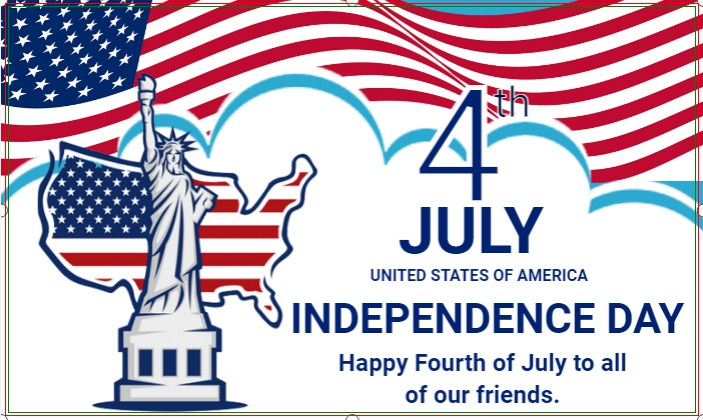 Celebrate America! Happy Independence Day!