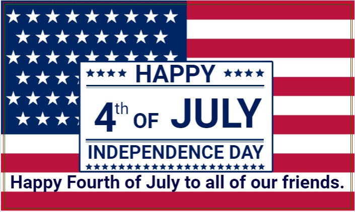 America 4th Of July Independence Day