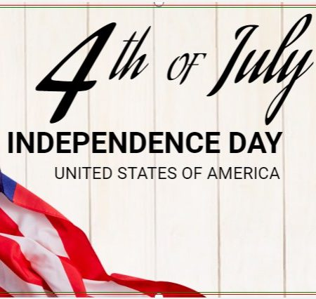 On Our Beloved Nation's! Happy 4th Of July.