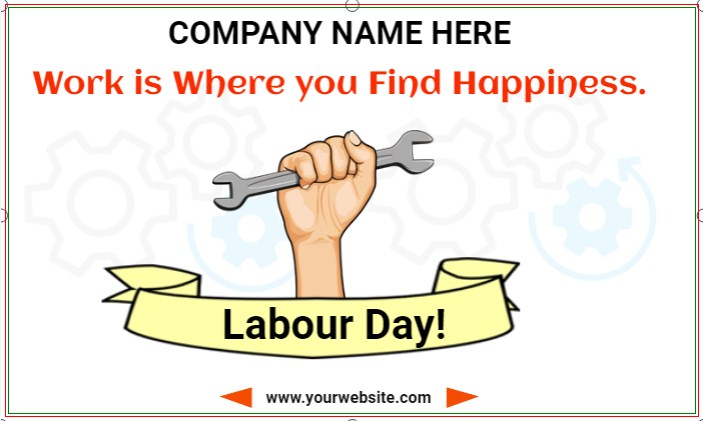 Work is Where you Find Happiness. Happy Labour Day!