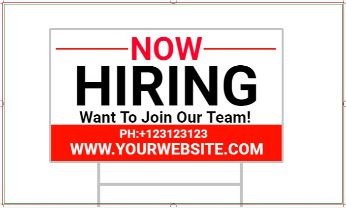 Want To Join Our Team! WE'RE HIRING