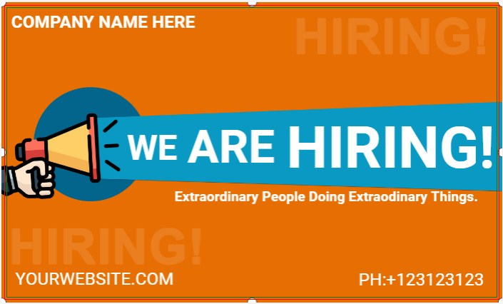 WE ARE HIRING! Extraordinary People Doing Extraodinary Things.