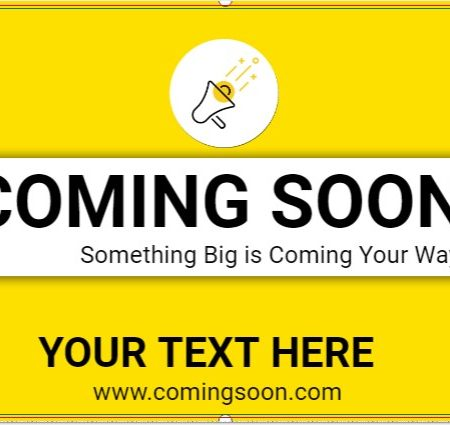 Something Big is Coming Your Way!