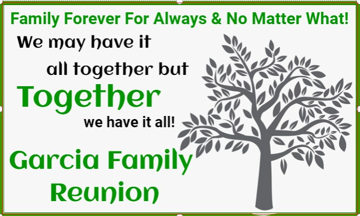 Family Forever For Always & No Matter What!