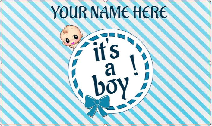 Congratulations On your Baby Boy!