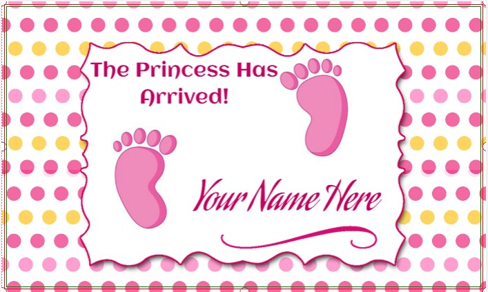 Congratulations! The Princess Has Arrived!