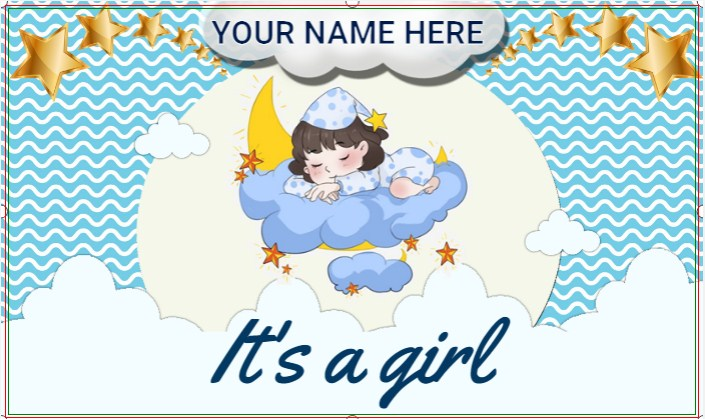 Congratulations! It's A Girl.