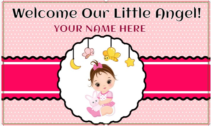 Welcome Our Little Angel!
