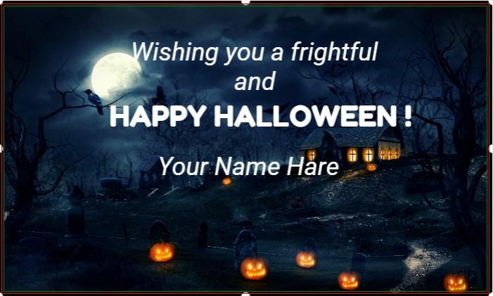 Halloween Boos & Brews Banner!