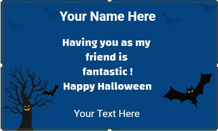 Halloween Blue Banner!