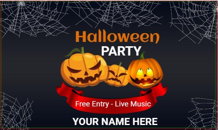 Halloween Darkness Dance Banner!