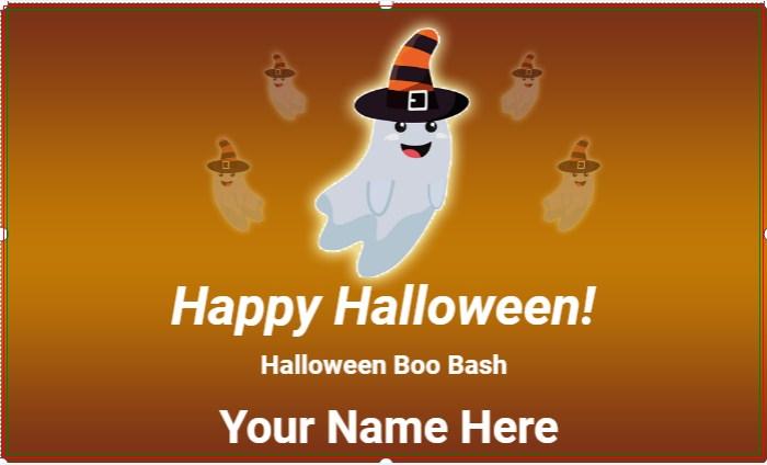 Halloween Boo Bash Banner!
