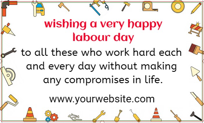 Labour Day Banner!