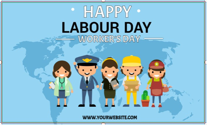 Happy Labour Day Banner!