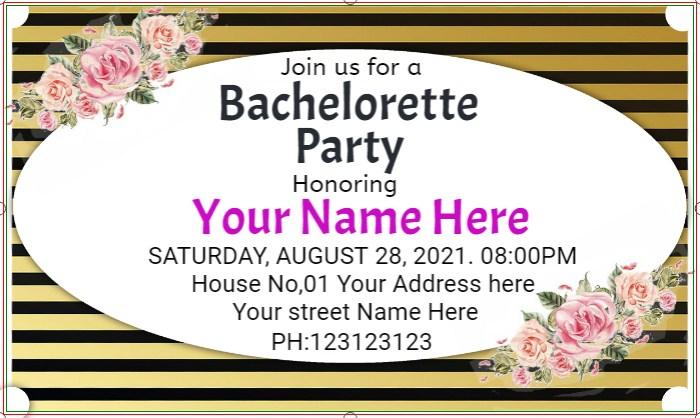 Bachelorette Party Banner!