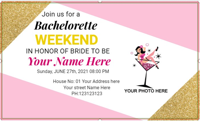 Bachelorette Weekend Party Banner!