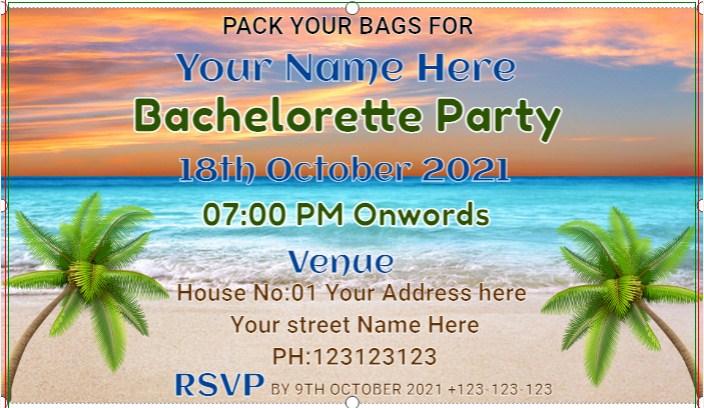 Bachelorette Beach Party Banner!