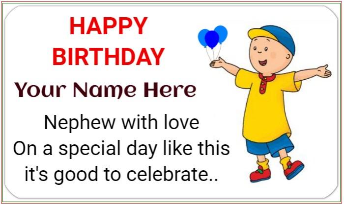 Nephew Happy Birthday Banner!