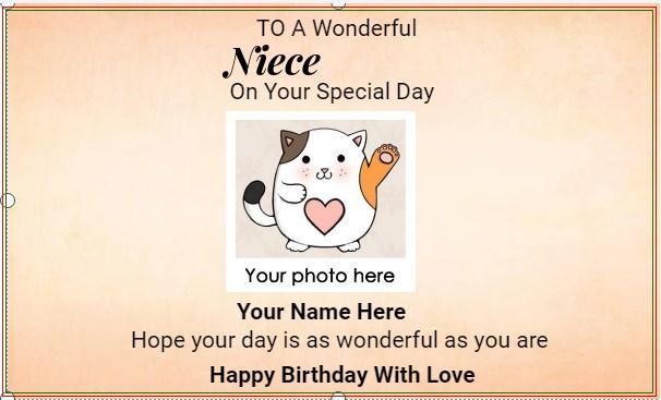 Niece Happy Birthday Banner!