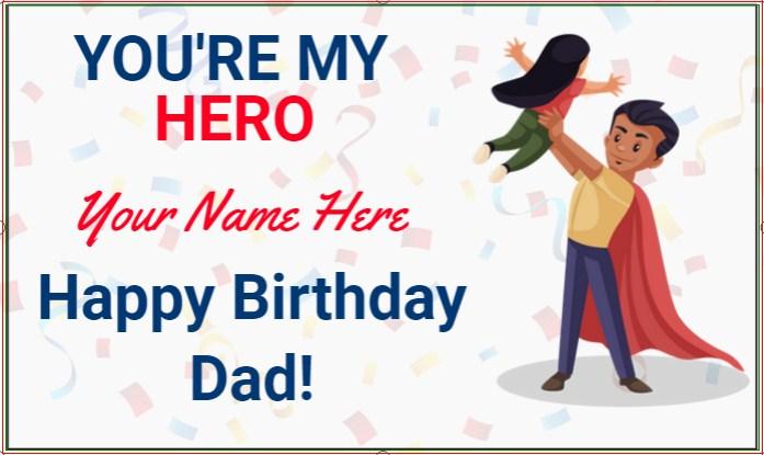 Dad Birthday Banner!