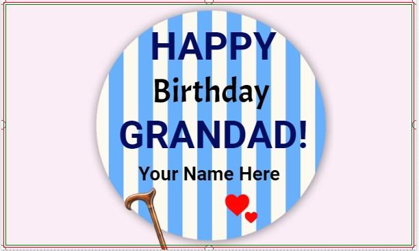 Grandad Birthday Banner!