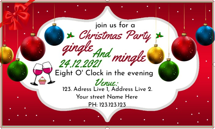 Banner Christmas Party!