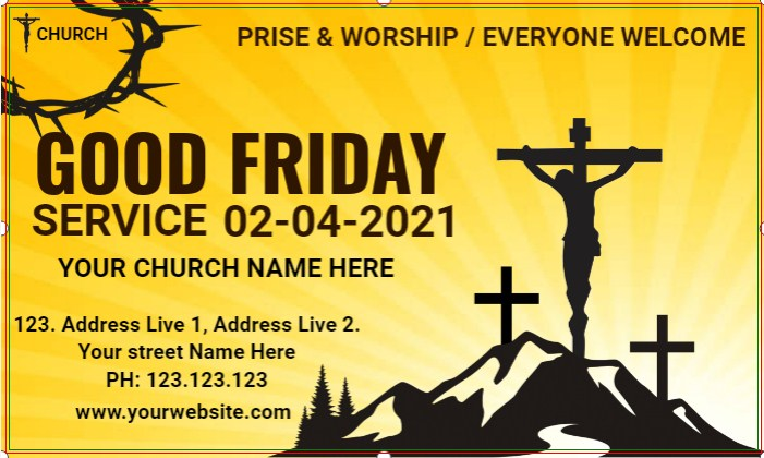 Good Friday Banner!