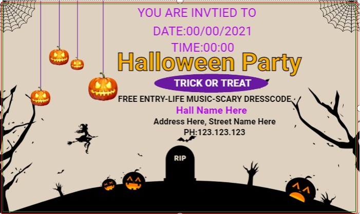 Halloween Banner Party!