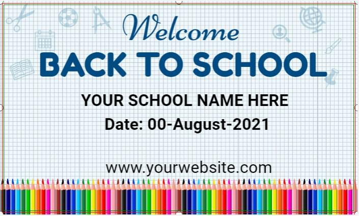 School Banner!