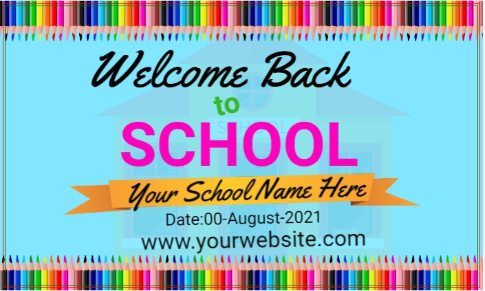 Back To School Banner!