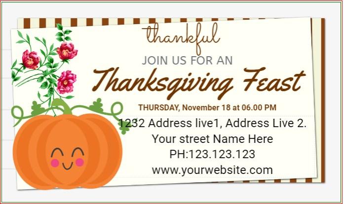 Thanksgiving Feast Banner!